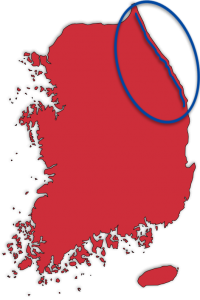 East Coast (Gangwon) Bicycle Map