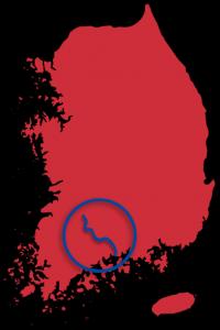 Seomjingang Bicycle Map