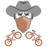 Western Routes bicycle path logo.