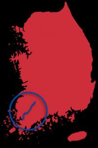 Yeongsangang Bicycle Map