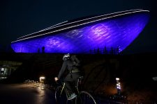Nakdonggang-Bike-Path-Gumi-Daegu-The-ARC-Blue-Biker