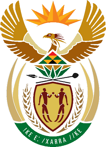 The South African embassy logo.