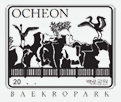 Baekro Park​ certification center checkpoint stamp for Korea's Bicycle Certification system.