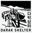 Darak Shelter certification center checkpoint stamp for Korea's Bicycle Certification system.
