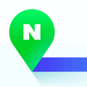 The logo for Naver Maps.
