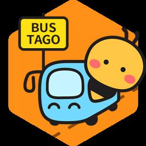 Bustago Bus Booking app logo.