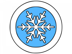 Winter Climate Icon