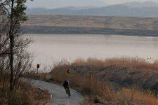 Nakdonggang Bike Path - Daegu Namji - Bike Path Turn