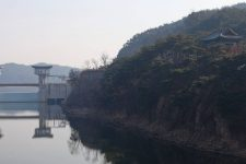Nakdonggang Bike Path - Sangju Gumi - Nakdong-bo and Pavilion