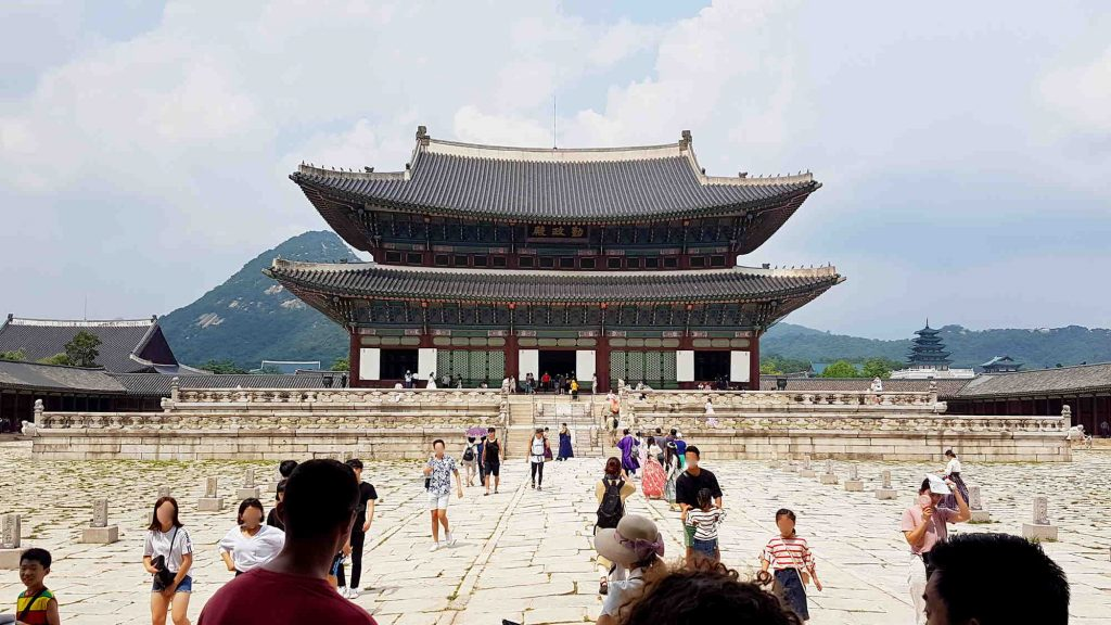 Gyeongbok Palace was the Joseon Dynasty's first palace. Today it's the most photographed and visited in Seoul.
