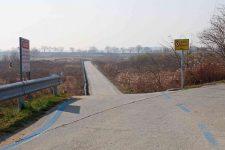 Ocheon Bike Path - Jeungpyeong Sejong - Straight Path Across Miho Streams
