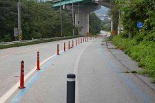 Ocheon Bike Path - Yeonpung Jeungpyeong - Bike Path Downhill Underpass