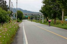 Ocheon Bike Path - Yeonpung Jeungpyeong - Bikers on the Road