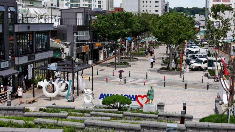 Gangneung ⟷ Sokcho Wolhwa Street