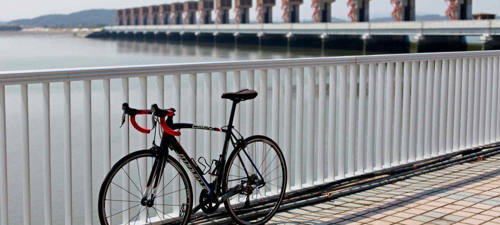 Geumgang Bike Path - Buyeo Gunsan - Bike and Geumgang Lock Gate