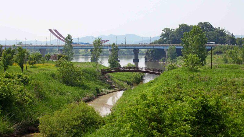 Geumgang Bike Path - Buyeo Gunsan - Bridge Park and River Inlets Geum River