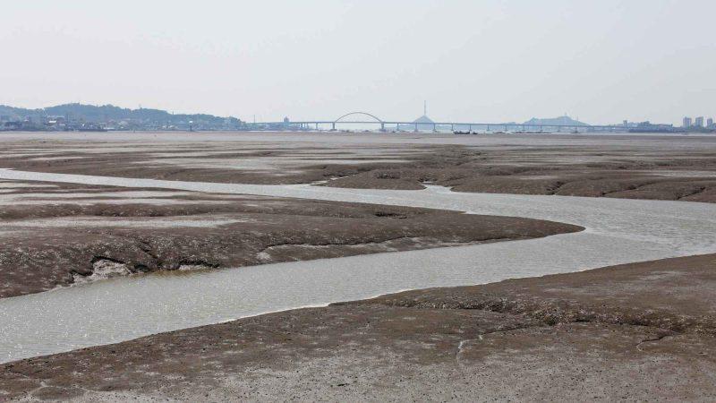 Geumgang Bike Path - Buyeo Gunsan - Gunsan Low Tide Geum River