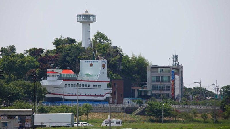 Geumgang Bike Path - Buyeo Gunsan - Nosan City Tower and Ship Cafe