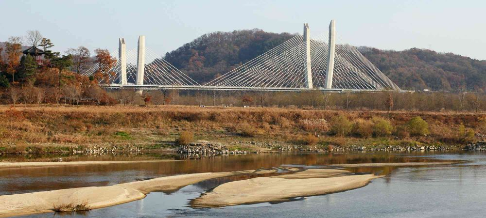 Geumgang Bike Path - Daejeon Buyeo - Aramchan Bridge
