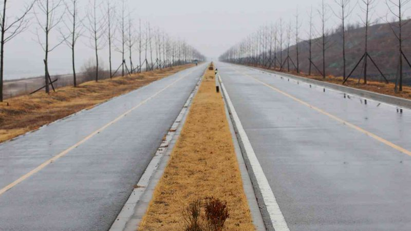 Hangang Bike Path - Hanam Yeoju - Cloudy Rainy Bike Path