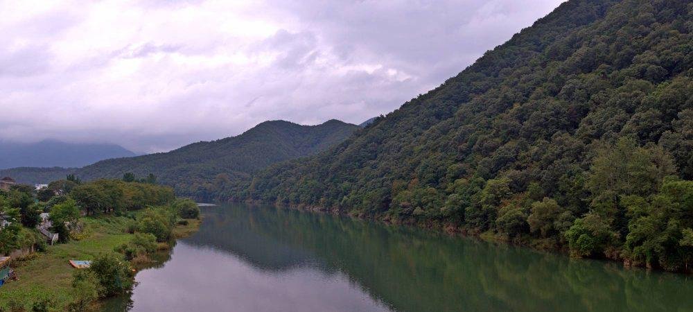Ocheon Bike Path - Yeonpung Jeungpyeong - Dal Stream from Goegang Bridge