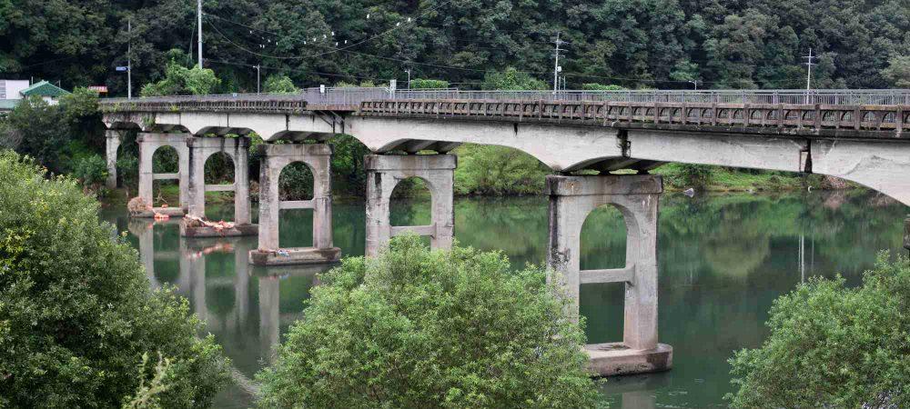 Ocheon Bike Path - Yeonpung Jeungpyeong - Goegang Bridge