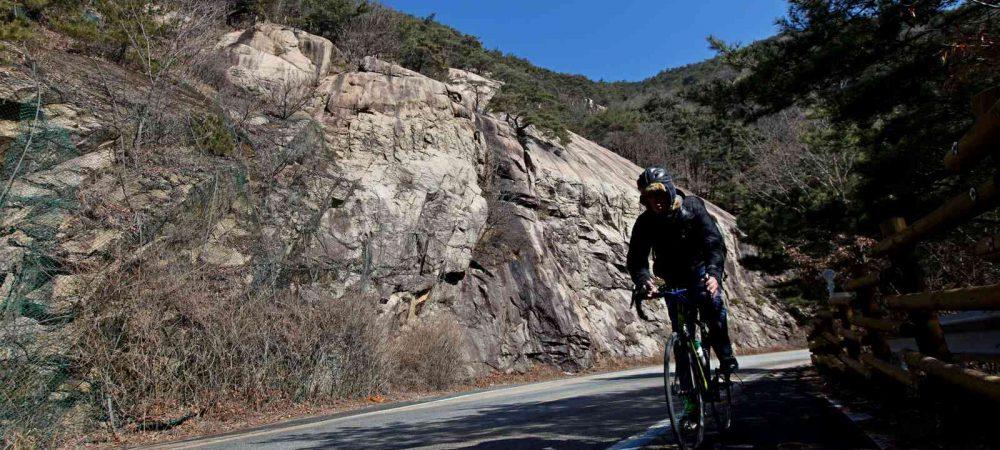 Saejae Bike Path - Chungju Sangju - Ihwaryeong Pass Mountain Road Rider