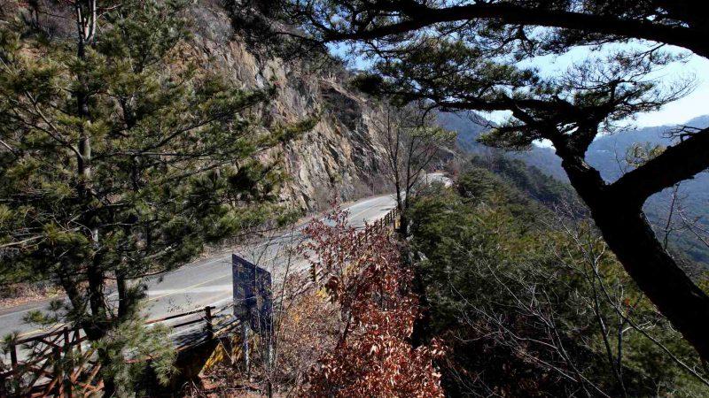 Saejae Bike Path - Chungju Sangju - Ihwaryeong Pass Overlook