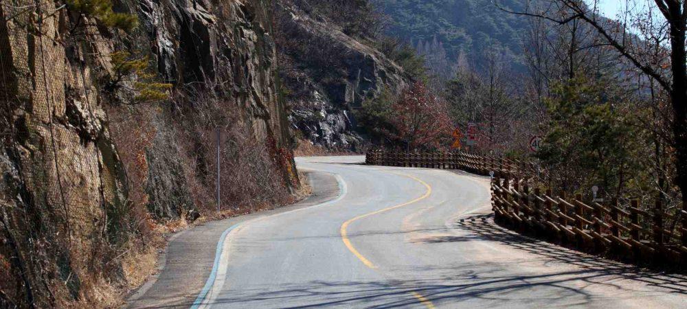 Saejae Bike Path - Chungju Sangju - Ihwaryeong Pass Winding Road