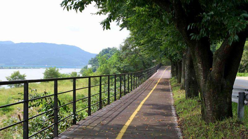 Saejae Bike Path - Chungju Sangju - Path Near Sangju