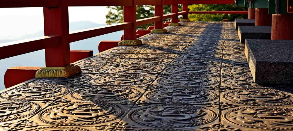 Seomjingang Bike Path - Gokseong Gwangyang - Saseongam Hermitage Decorated Floor