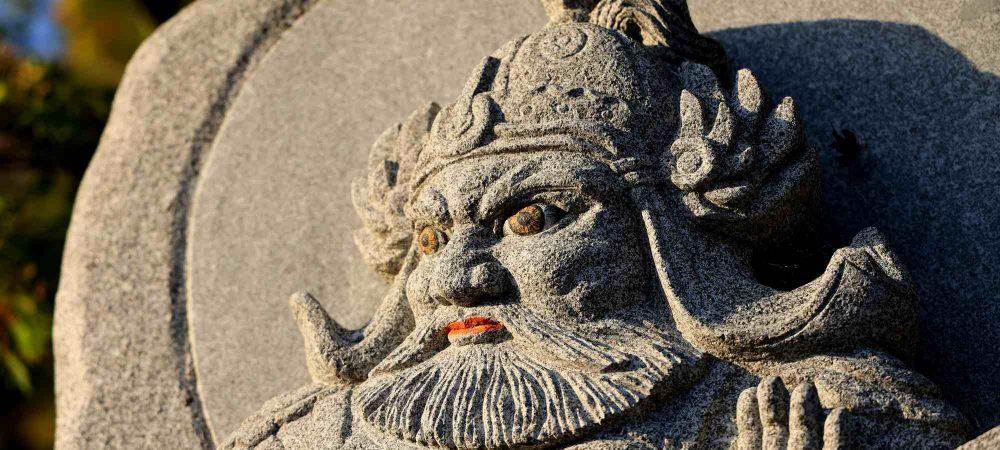 Seomjingang Bike Path - Gokseong Gwangyang - Saseongam Hermitage Statue
