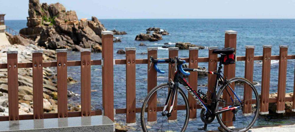 Sokcho ⟷ Daejin Bike Rocks Ocean