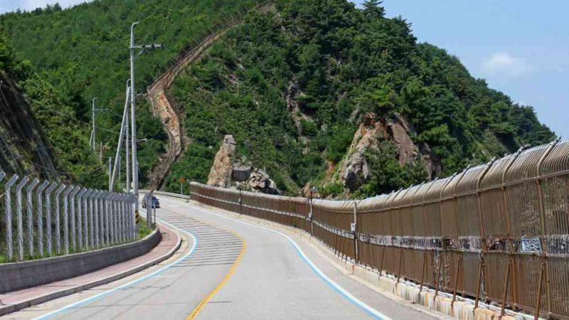Sokcho ⟷ Daejin Road on Hill