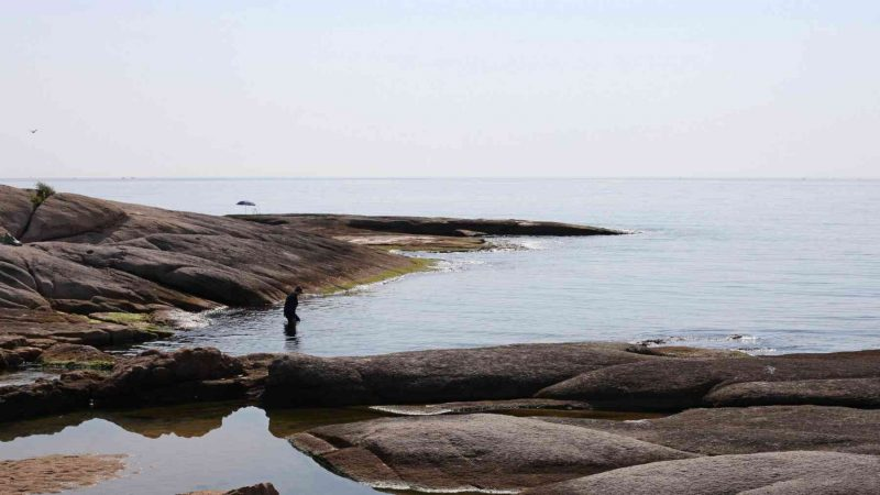 Sokcho ⟷ Daejin Smooth Rocks and Ocean Man