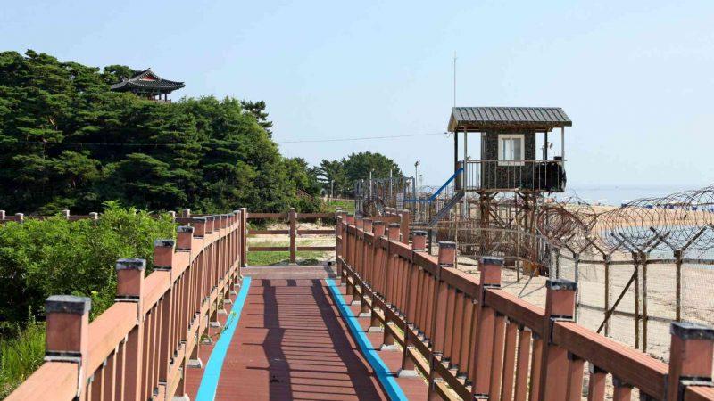 Sokcho ⟷ Daejin Temple Guard Tower Ocean