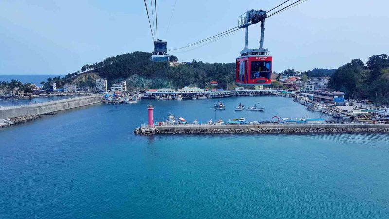 Uljin ⟷ Donghae Cable Car 3