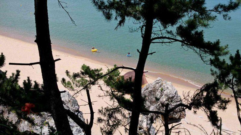Uljin ⟷ Donghae Swimmers in Ocean
