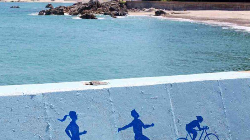 Yeongdeok ⟷ Uljin Beach Wall Mural