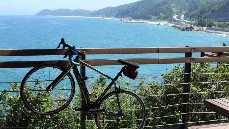 Yeongdeok ⟷ Uljin Bike and Coast Rest Stop