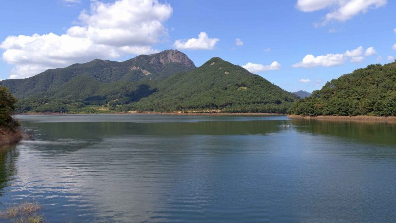 Yeongsangang Bike Path - Damyang Gwangju - Damyang Lake