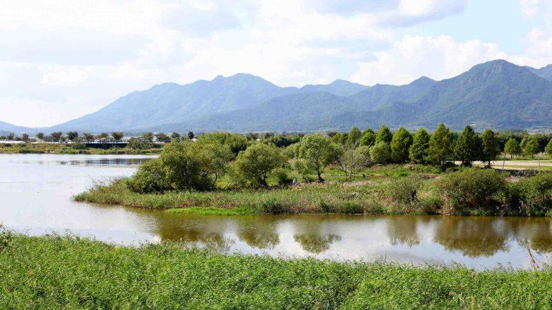 Yeongsangang Bike Path - Damyang Gwangju - Yeongsan River Mountains