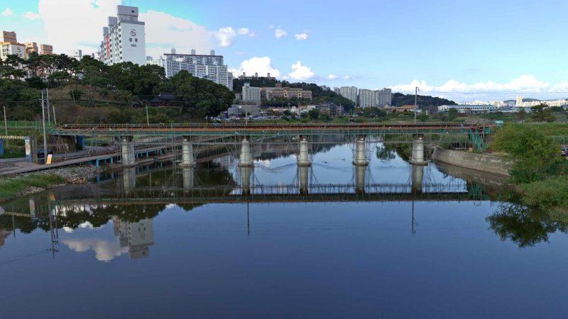 Yeongsangang Bike Path - Damyang Gwangju - Yeongsan River in Gwangju
