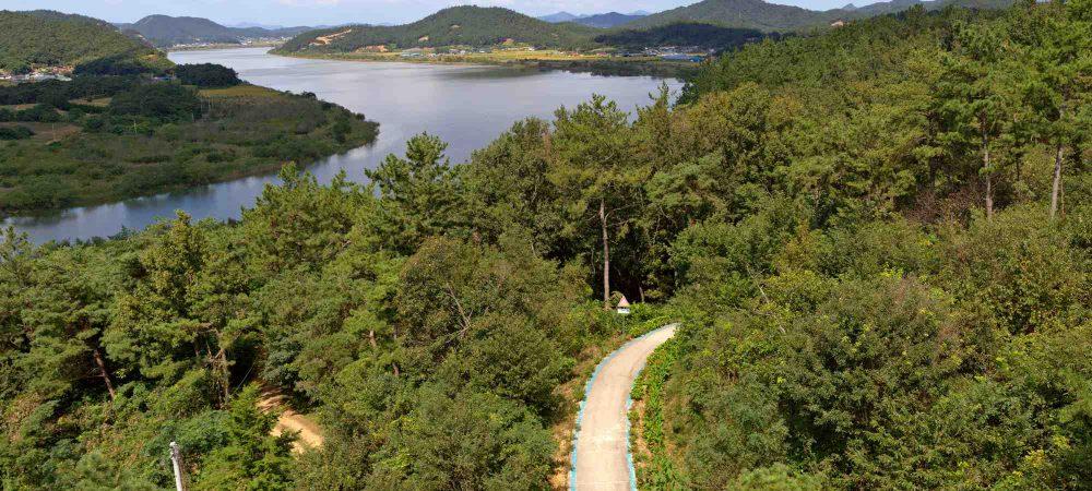 Yeongsangang Bike Path - Gwangju Mokpo - Bike Path from Neureoji Observation Center 3