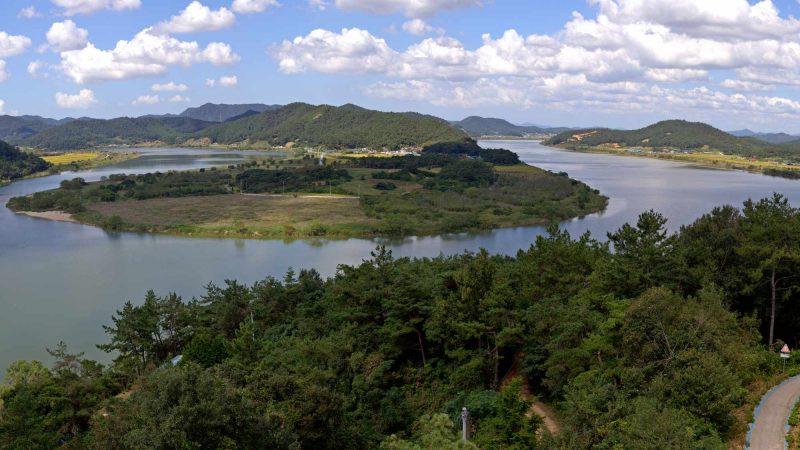 Yeongsangang Bike Path - Gwangju Mokpo - Neureoji Observation Center Teardrop Peninsula 2