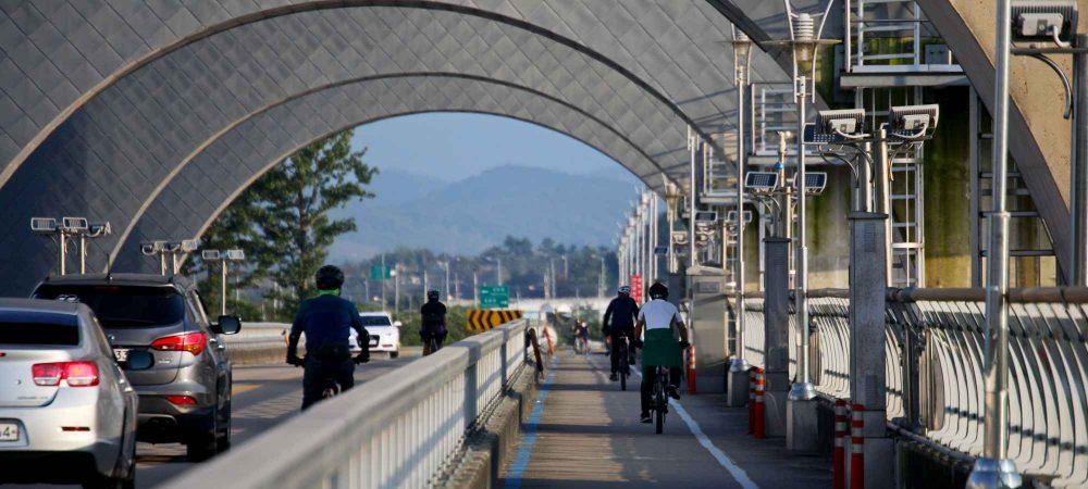 Yeongsangang Bike Path - Gwangju Mokpo - Weir Bike Path